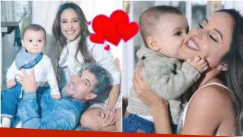 Lourdes Sánchez habló de la maternidad y... ¿le tiró un palito al Chato Prada? (Fotos: revista Gente)