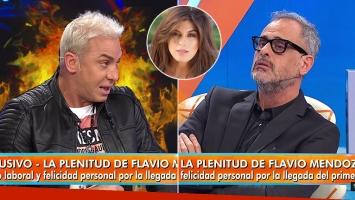 Picante frase de Flavio Mendoza para Loly Antoniale cara a cara con Jorge Rial