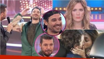 El súper fallido de Pedro Alfonso en ShowMatch cuando hablaba de los besos con Natalie Pérez en Las Estrellas. Foto: Captura
