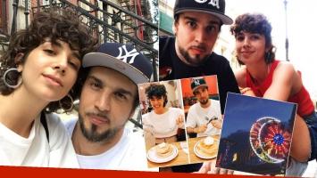 Los días de amor de Dante Spinetta y Cala Zavaleta en Nueva York (Foto: Instagram)
