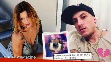 ¡Salando las heridas! Tremenda foto de la ex del Polaco en la cama con su novio actual