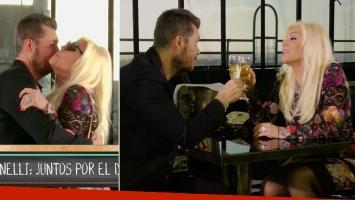 El divertido back del spot de Tinelli y Susana… y la picante pregunta de Marcelo a la diva: