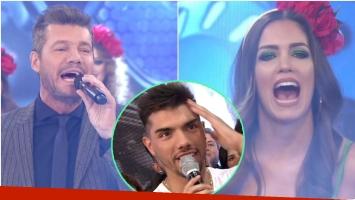 El tremendo exabrupto de Rocío Robles a Tyago Griffo en Bailando 2017 (Fotos: Captura y Web)
