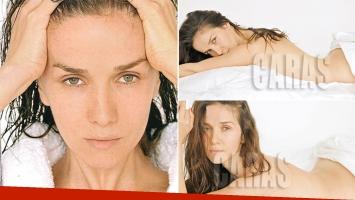 Natalia Oreiro, diosa sin maquillaje, ni Photoshop (Foto: revista Caras)
