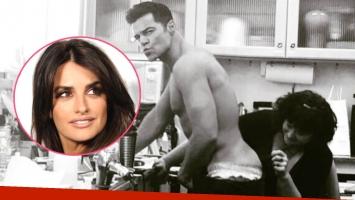 Pénelope Cruz escrachó a Ricky Martin con una foto ultra sexy (Foto: Instagram)