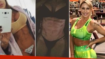 Mónica Farro, la diosa de los abdominales de acero. Foto: Instagram
