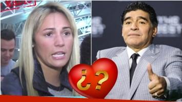 Rocío Oliva... ¿cerca de volver con Diego Maradona? (Fotos: Captura y Web)