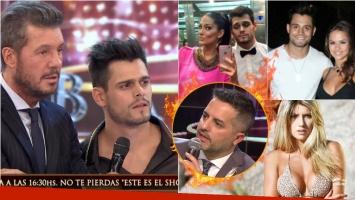 La picante pregunta a Lucas Velasco que le hizo Ángel de Brito en el Bailando sobre una exnovia. Foto: Captura/Web