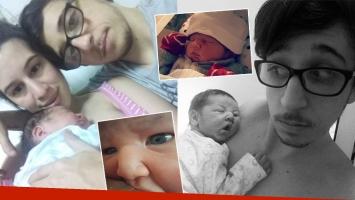 Las fotos súper tiernas del bebé de Rodrigo Noya (Foto: Instagram)