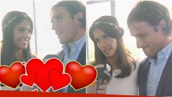 Las imágenes del casamiento de Delfina Gerez Bosco y Fernando Beni (Fotos: Captura)