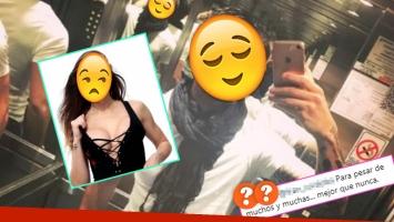 La foto sexy (¡con picante frase!) del periodista, a días de su separación de la diosa (Foto: Instagram y Web)