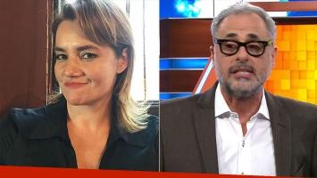 Nancy Pazos arremetió sin filtro contra Jorge Rial