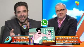Luciano Castro habló de su audio filtrado