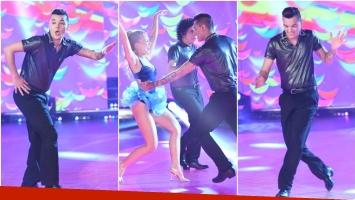 Brian Lanzelotta la rompió en su debut en Bailando 2017 (Fotos: Prensa Ideas del Sur)