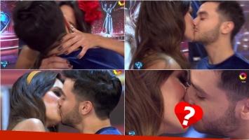 Tinelli le pidió un beso a Agustín Casanova y a su novia bailarina de ShowMatch... ¡y tuvieron que hacerlo 4 veces!