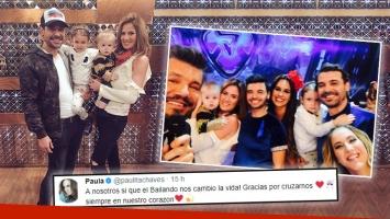 Paula Chaves volvió a mostrar el rostro de Baltazar en la despedida de Pedro Alfonso de ShowMatch