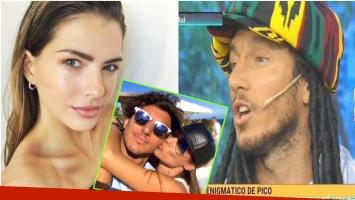 La reacción de Pico Mónaco cuando le nombraron a la China Suárez (Fotos: Captura y Web)