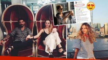 El Pocho Lavezzi y Yanina Screpante, cómplices y enamorados en Shanghai tras los rumores de ruptura