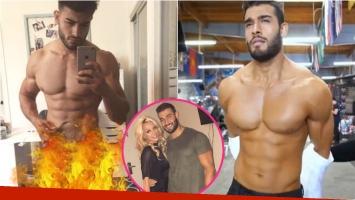 La foto indiscreta (¡y ultra hot!) del novio de Britney Spears que se viralizó en las redes. Foto: Twitter/ Instagram