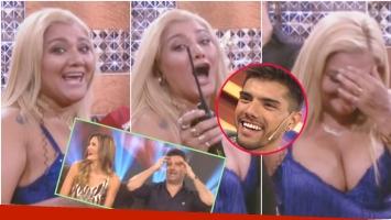 El blooper de Gladys La Bomba Tucumana ante las cámaras de Este es el Show (Fotos: Captura y Web)
