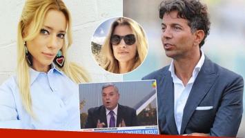 Carlos Monti aseguró que Nicole Neumann tiene una relación con Pablo Cosentino