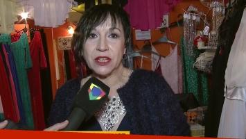 Ana Acosta, de las tablas a atender un local de ropa en el Once
