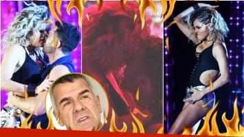 El regaettón romántico ultra hot de La Chipi con su bailarín... ¡y el secreto para que Dady no se ponga celoso! (Fotos: Prensa Ideas del Sur y Captura)
