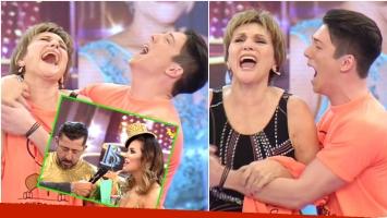 Consuelo Peppino venció a Huevo Müller y Roxana Cravero en el voto telefónico de Bailando 2017 (Fotos: Captura)