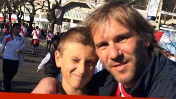 El desgarrador mensaje de Marcos Milinkovic tras la muerte de su hijo