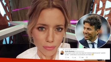 Nicole Neumann desmintió la versión de relación amorosa con Pablo Cosentino