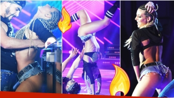 Mirá qué dijo Sol Pérez cuando criticaron su reggaetón en el Bailando (Fotos: Prensa Ideas del Sur)