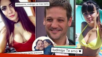 Rodrigo de la Serna, enamorado de Ludmila Romero.
