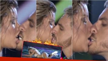 El reggaettón súper hot de Fede Bal y Laurita Fernández en el Bailando... ¡que terminó con un súper beso!