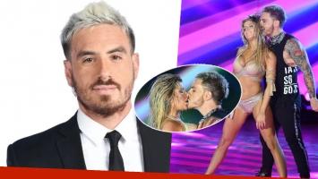 Fede Bal contó qué sintió al besar a Laurita en el reggaetón del Bailando