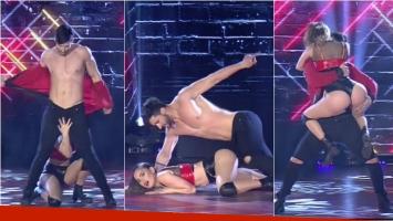 Silvina Luna prendió fuego la pista con un reggaetón muy caliente en Bailando 2017