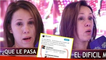 El llanto de Barby Silenzi en La Previa del Show por las burlas hacia su hija en las redes. Foto: Captura/ Twitter