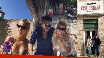 Ailén Bechara y su novio se instalaron en Madrid. (Foto: Instagram)