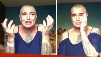 Sinead O'Connor alarmó a sus seguidores en Facebook tras un dramático video. (Foto: captura video)