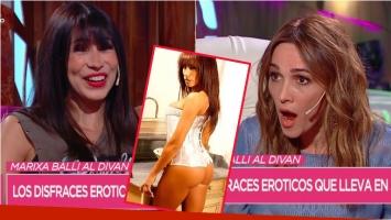 Marixa Balli contó en Cortá por Lozano que se operó la cola: