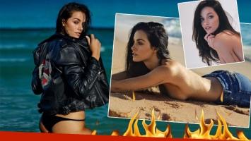 La producción súper sexy de Oriana Sabatini en la playa