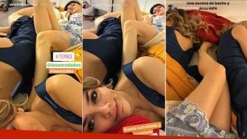 La siesta de a tres de Natalie Pérez, Violeta Urtizberea y Justina Bustos