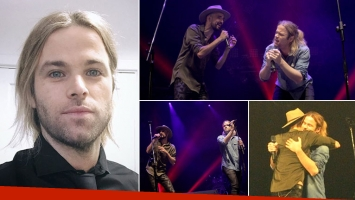 Benjamín Amadeo y su emoción tras compartir escenario con Abel Pintos