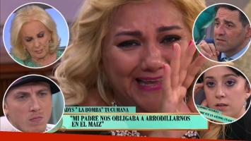 Desgarradora confesión en vivo de Gladys, la Bomba Tucumana, quebrada en TV