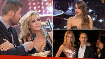 El particular gesto de Pampita cuando Yanina Latorre hablaba de su relación con Diego Latorre en ShowMatch. Foto: Capura