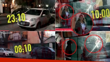 El video del encuentro de Fede Bal y Laurita Fernández
