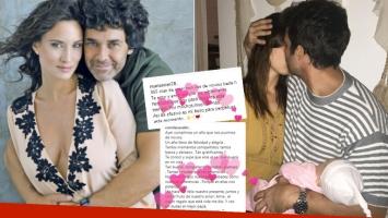 Mariano Martínez y Camila Cavallo celebraron su su primer año juntos (Foto: Instagram)