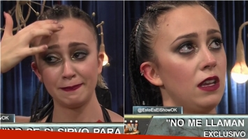El llanto de Nai Awada al no poder bailar en ShowMatch: