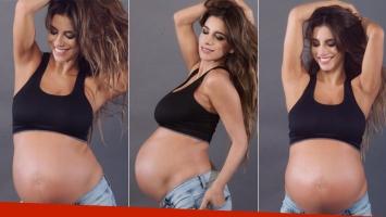 Gabriela Sari, embarazada de ocho meses (Foto: Instagram)