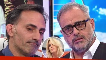 La picante pregunta de Jorge Rial a Diego Latorre: