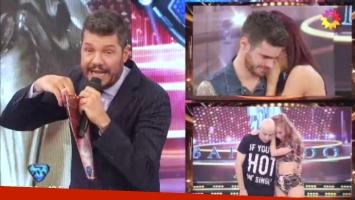 Gastón Soffritti eliminó a El Dipy de Bailando 2017 (Foto: Captura)